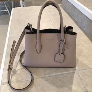 Kate Spade Eva Leather Small Satchel Handbag
